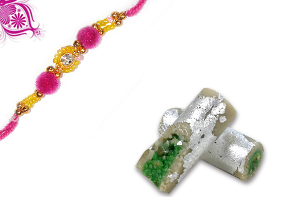 Diamond Pavitra Rakhi and Pista Roll
